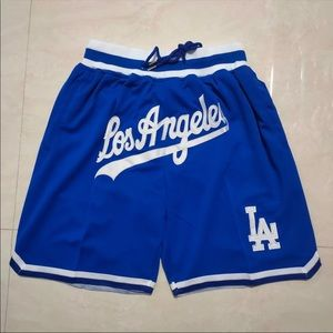 JUST DON Los Angeles Dodgers Shorts ALL SIZES